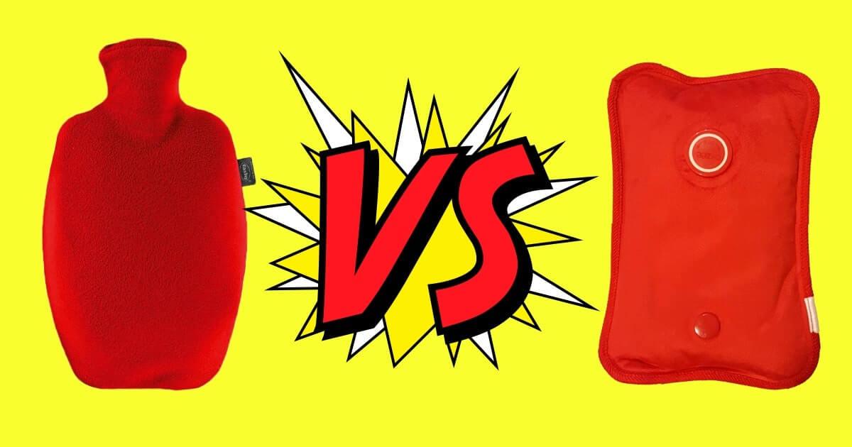 Electric vs. Standard hot water bag