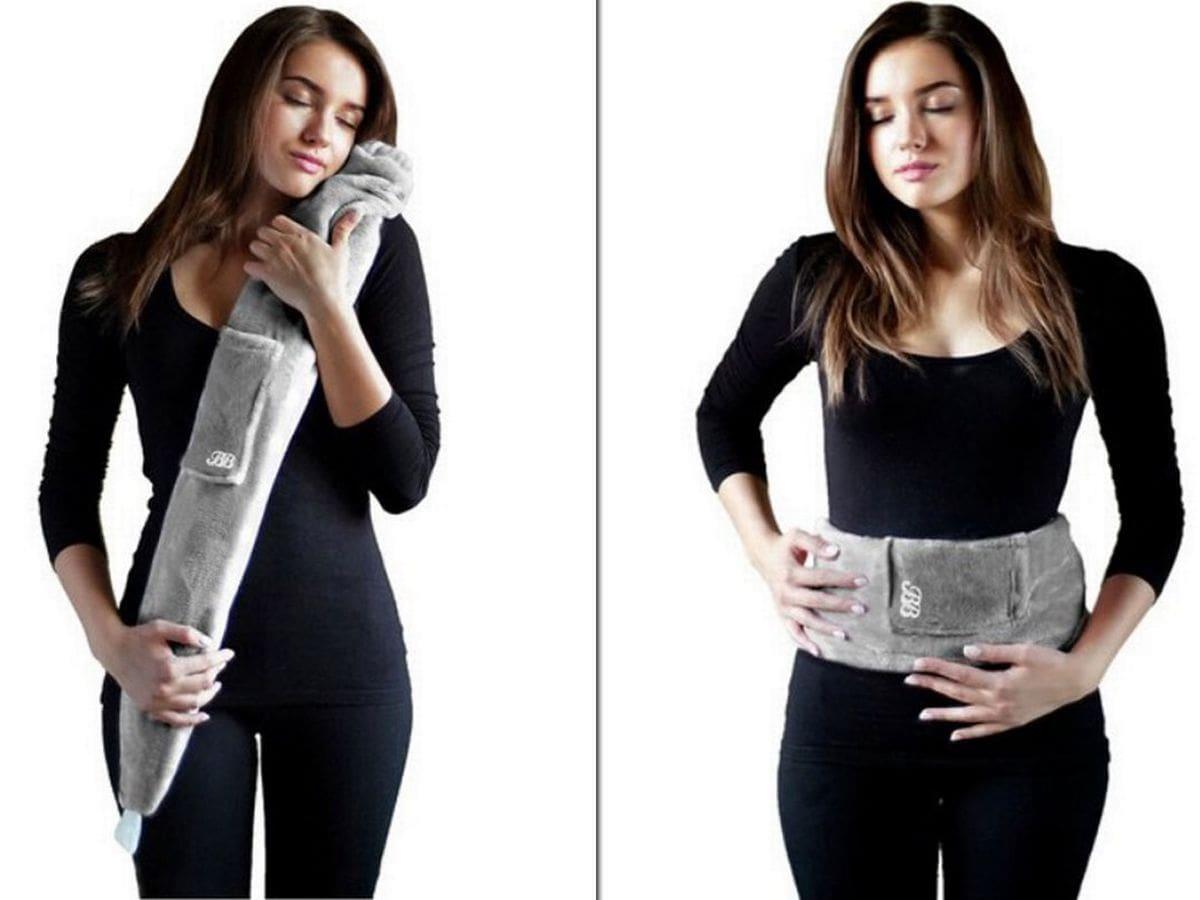 long hot water bottle bag